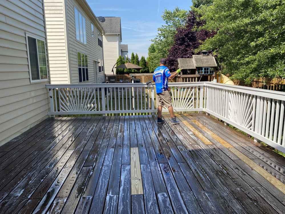 Deck and Patio Cleaning Manassas VA