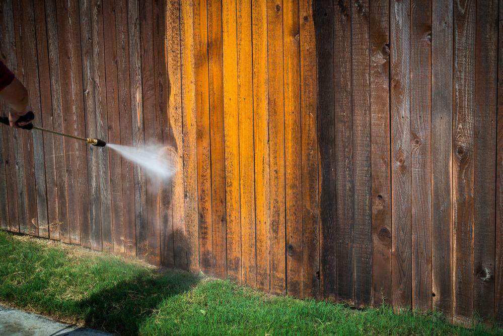 Fence Washing